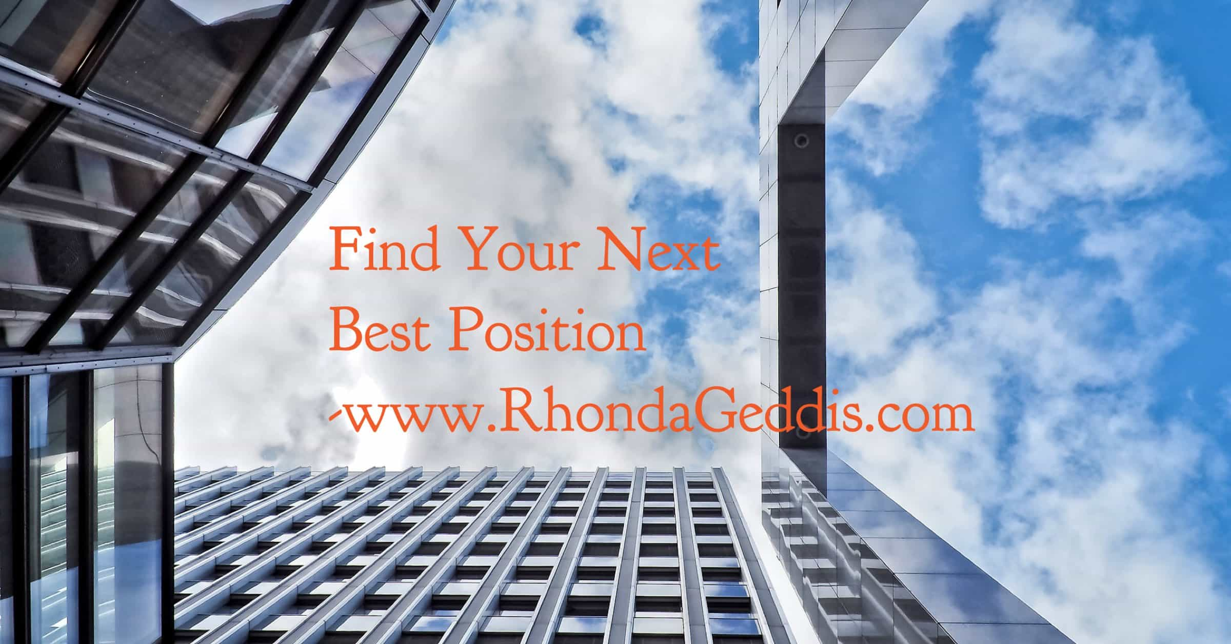 Find Your Next Best Position